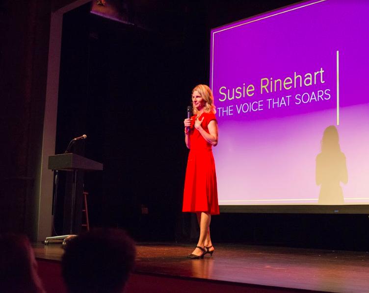Finding my voice Susie Rinehart